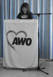 AWO Vorsitzende Ute Frohein-Sendl